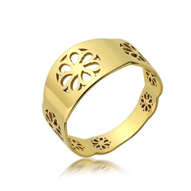 Pierścionek złoty C29