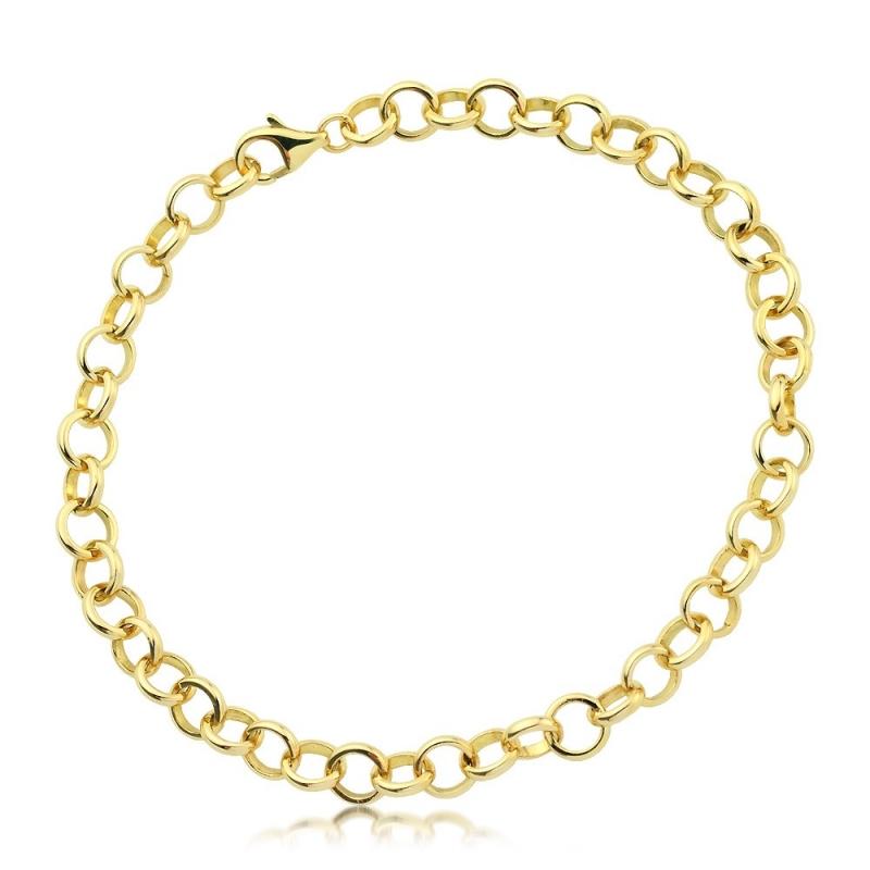 Bransoleta złota ROLLO
