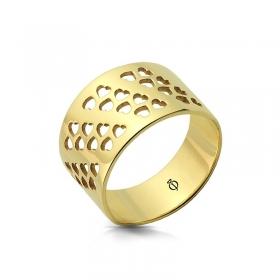Pierścionek złoty - Small Hearts