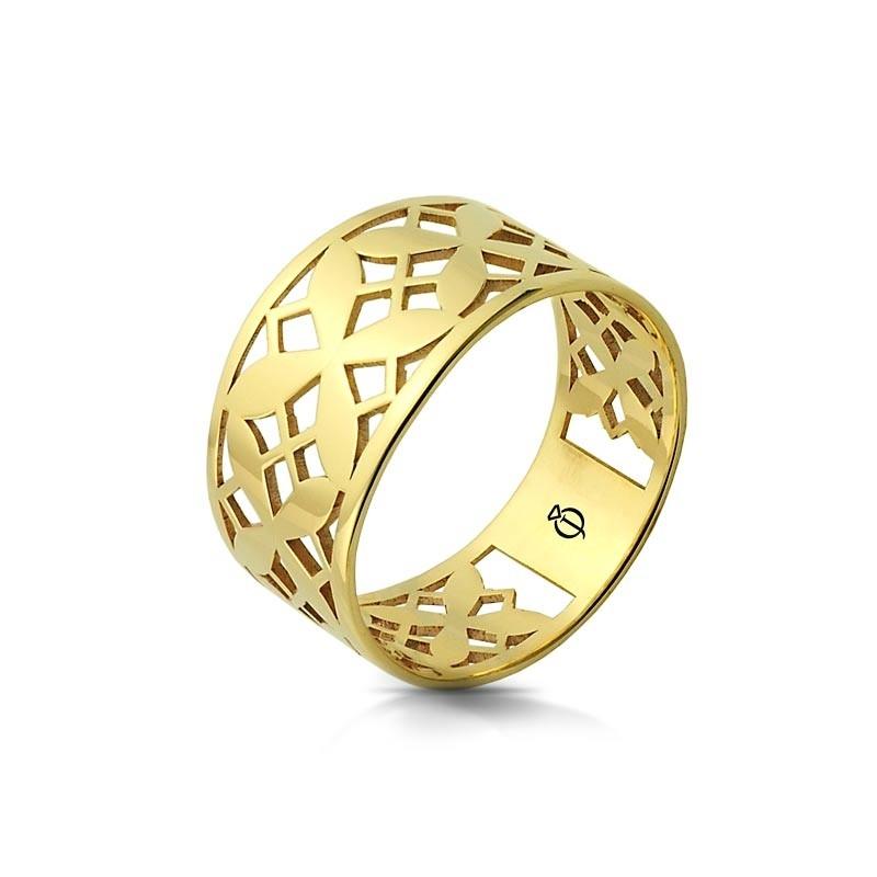 Pierścionek złoty - Fiorito