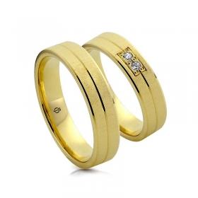 Złote obrączki N52