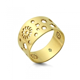 Pierścionek złoty - Soffione