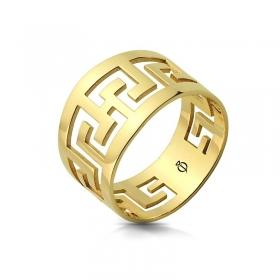 Pierścionek złoty - Maze