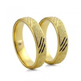 Złote obrączki N58