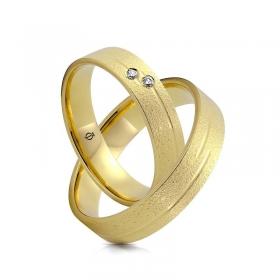 Złote obrączki N5130