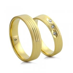 Złote obrączki N5320