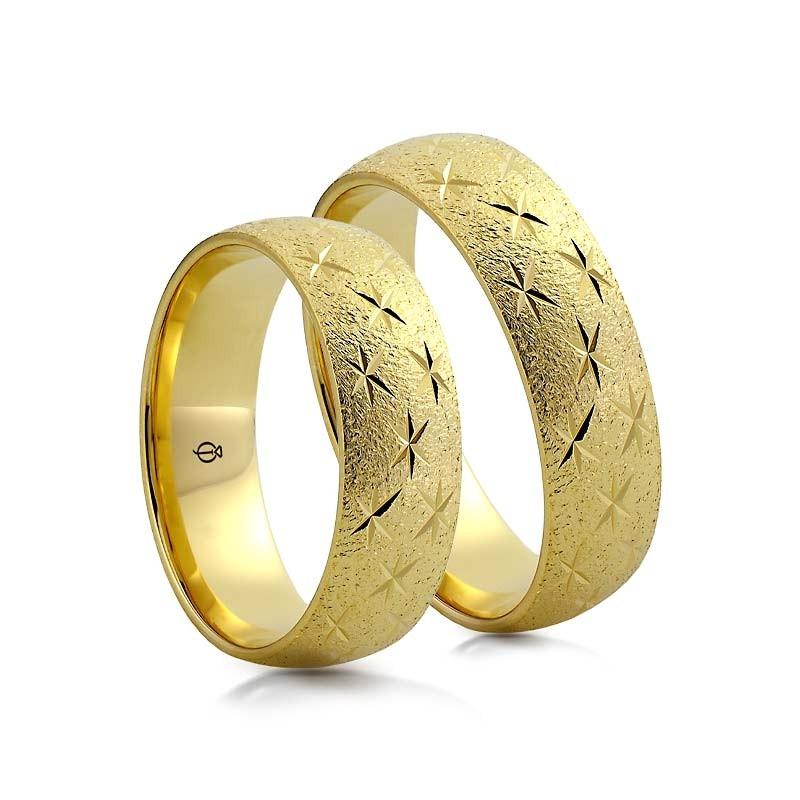 Złote obrączki N6118