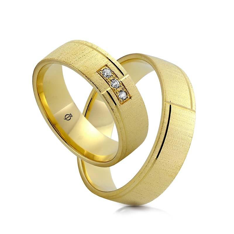 Złote obrączki N6130