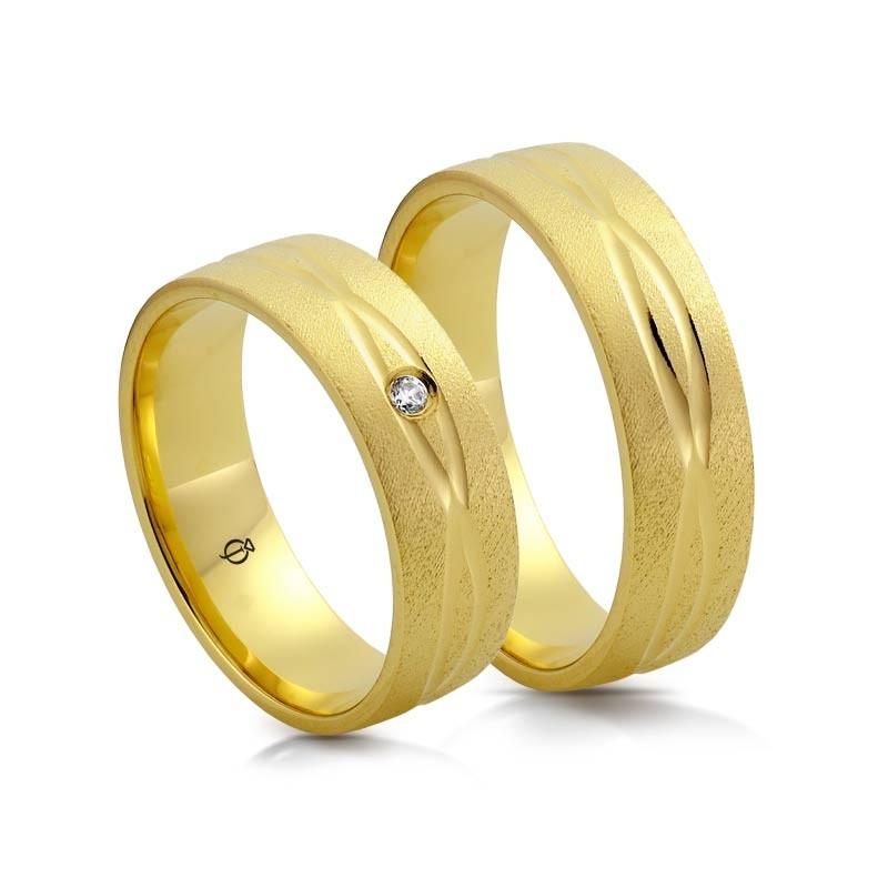 Złote obrączki N6425