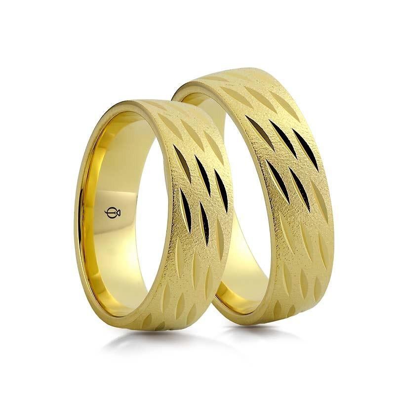 Złote obrączki N6720