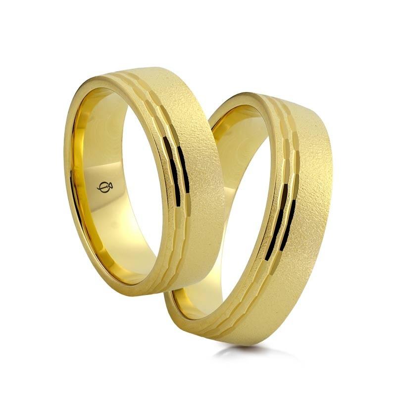 Złote obrączki N6830