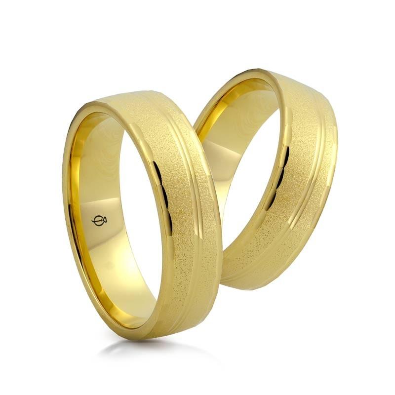 Złote obrączki N6930