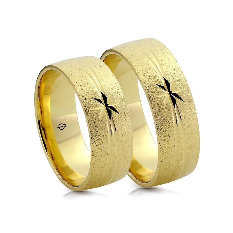 Złote obrączki N7425