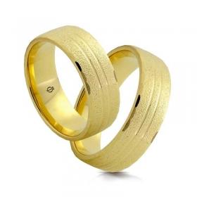 Złote obrączki N71025