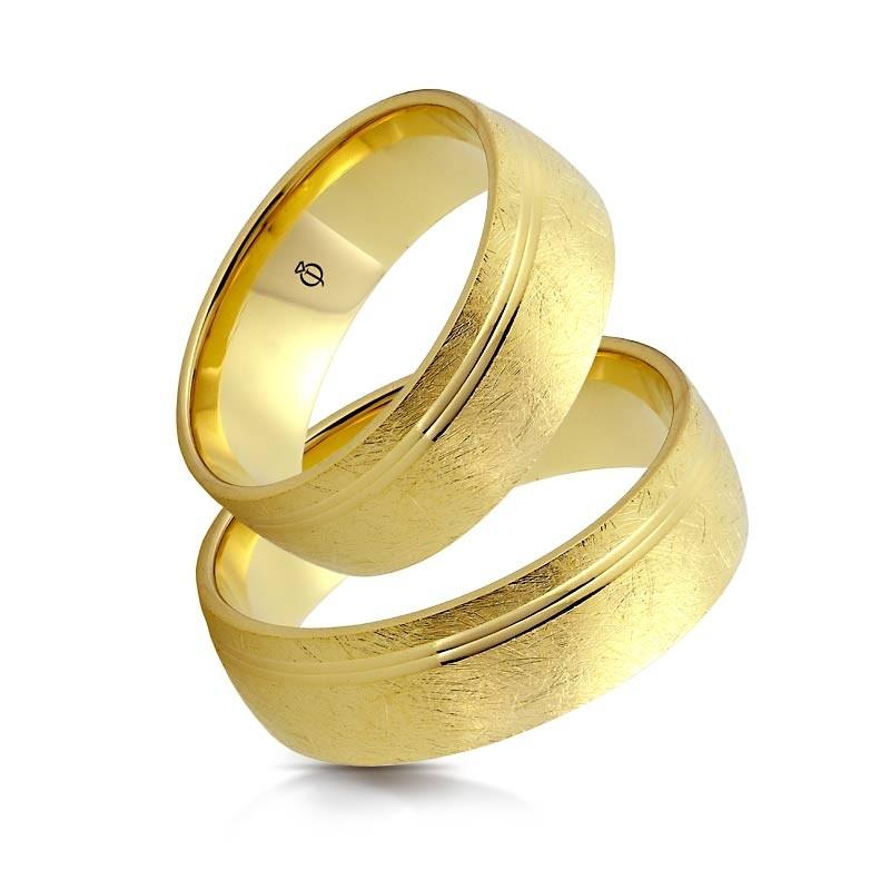 Złote obrączki N71115