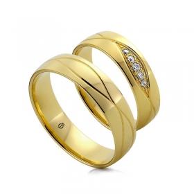 Złote Obrączki O113