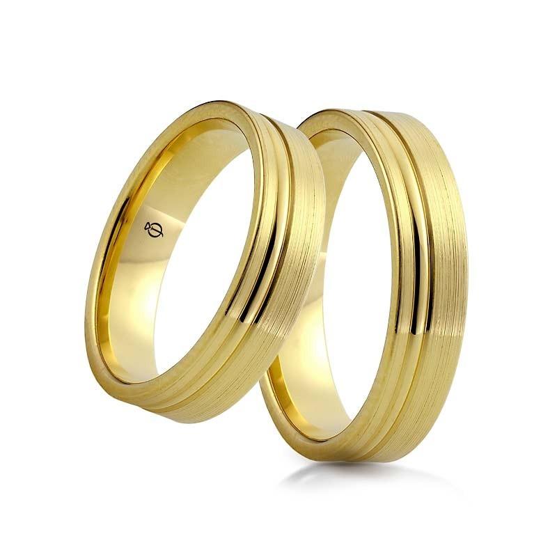 Złote obrączki S13