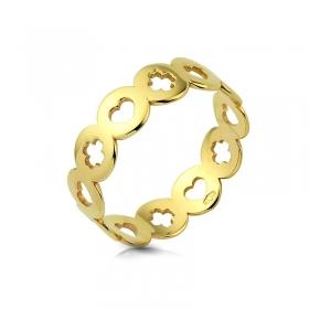 Obrączka złota - Ażurowa