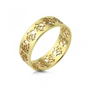 Obrączka złota - Rosse