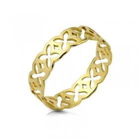 Obrączka złota - Trefle