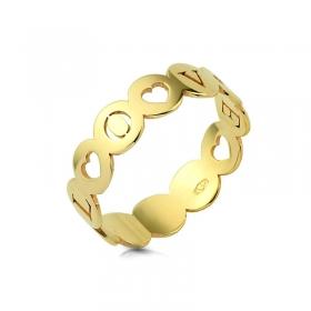 Obrączka złota - Love