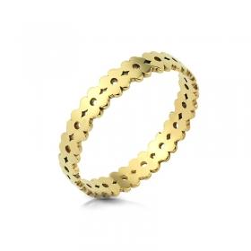 Obrączka złota - Clover