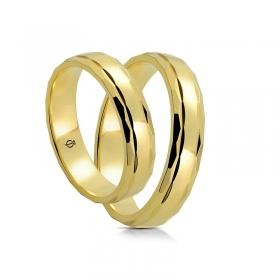Złote obrączki A4501
