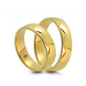 Złote Obrączki A5001