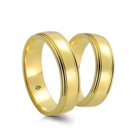 Złote obrączki A5501