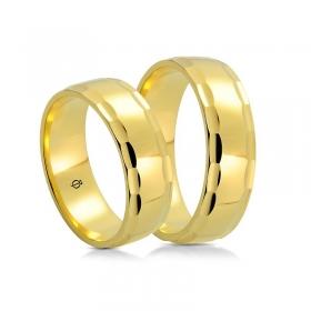 Złote obrączki A6501