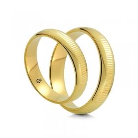 Złote Obrączki C5001