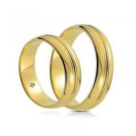 Złote obrączki C5501