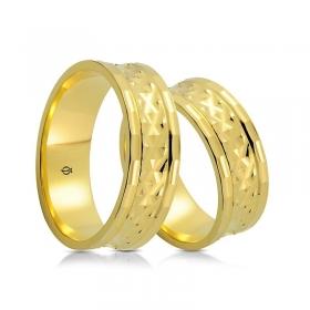 Złote obrączki P7503