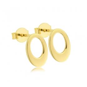 Kolczyki złote - Ellipse