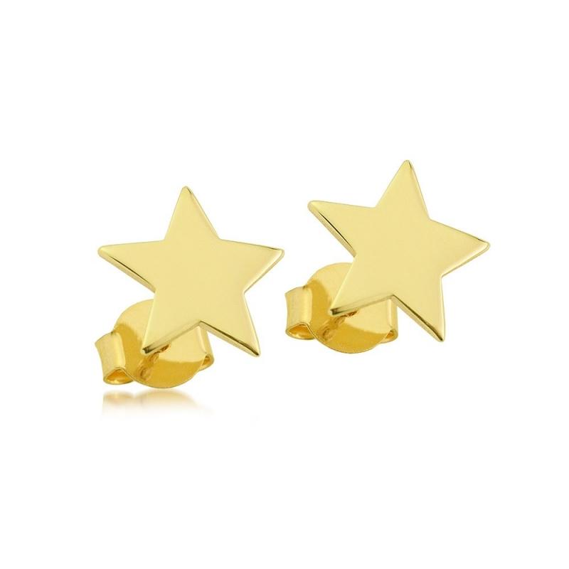 Kolczyki złote - Shining Star