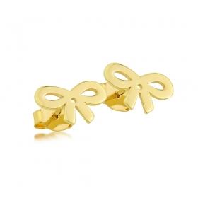 Kolczyki złote - Ribbon