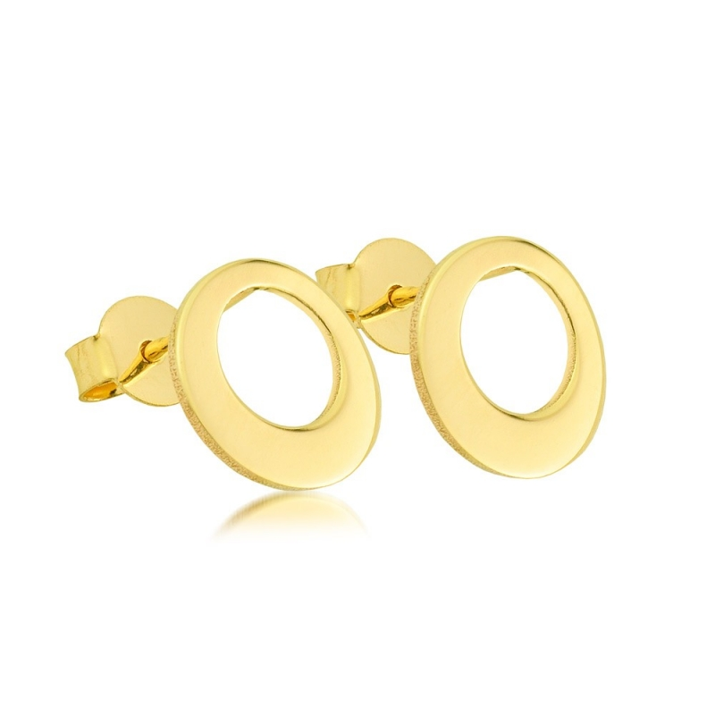 Kolczyki złote - Roller