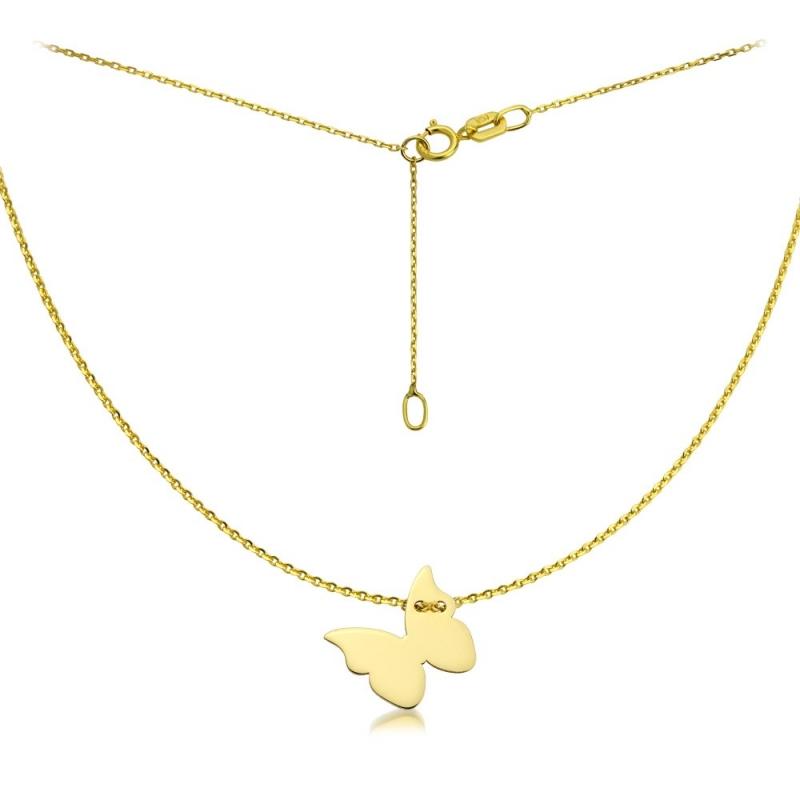 Celebrytka złota - Butterfly Gold