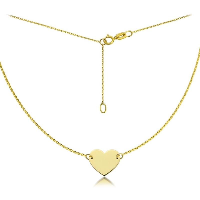 Celebrytka złota - Heart Gold