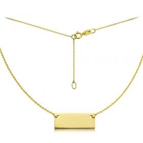 Celebrytka złota - Tavoletta