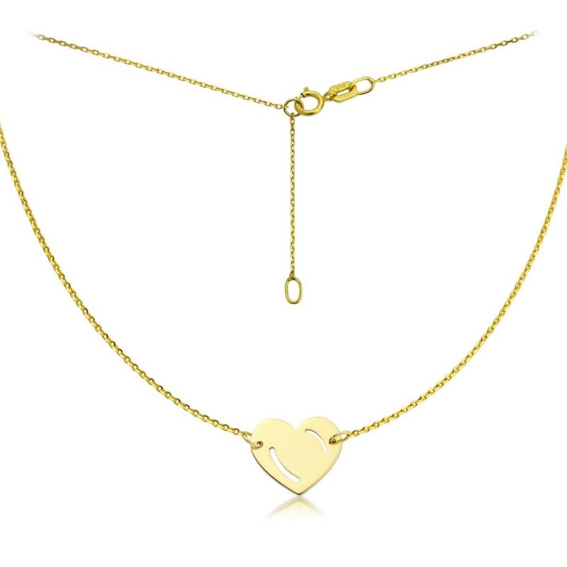 Celebrytka złota - Heart