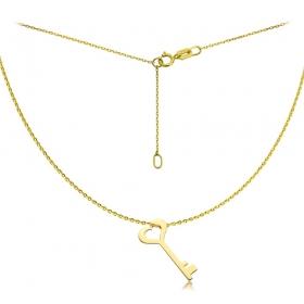 Naszyjnik złoty Kluczyk
