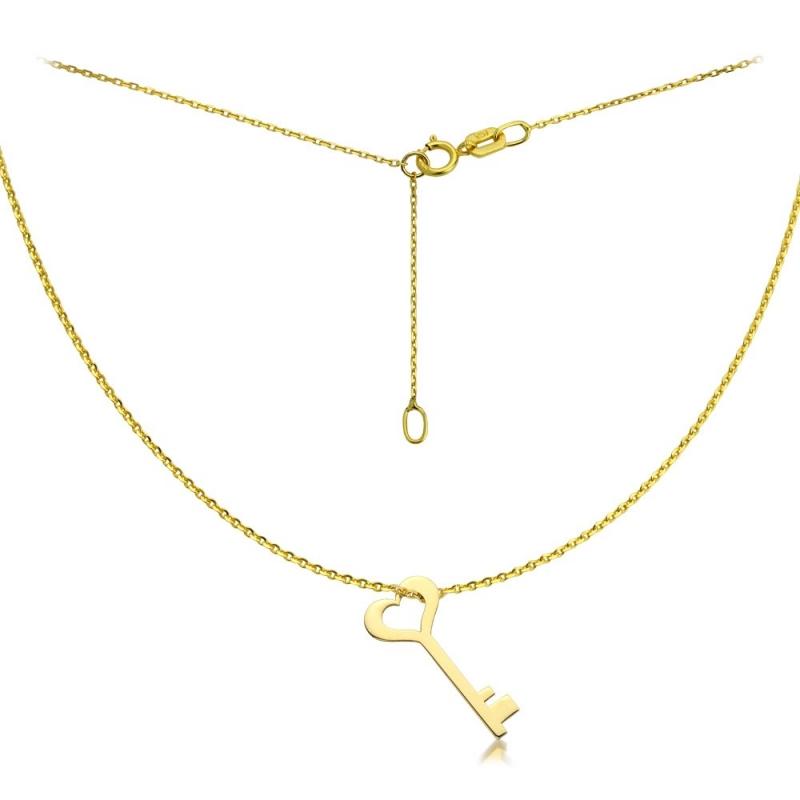 Celebrytka złota - Golden Key