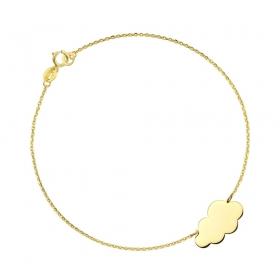 Bransoletka złota - Cloud