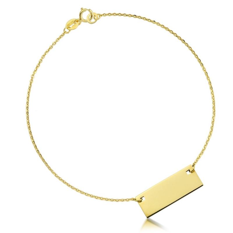 Bransoletka złota - Tavoletta