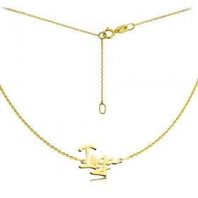 Naszyjnik -  Złote Imię Yelka Inga