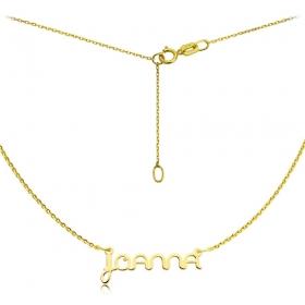 Naszyjnik - Złote Imię Ether Joanna