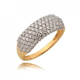 Pierścionek złoty N367p