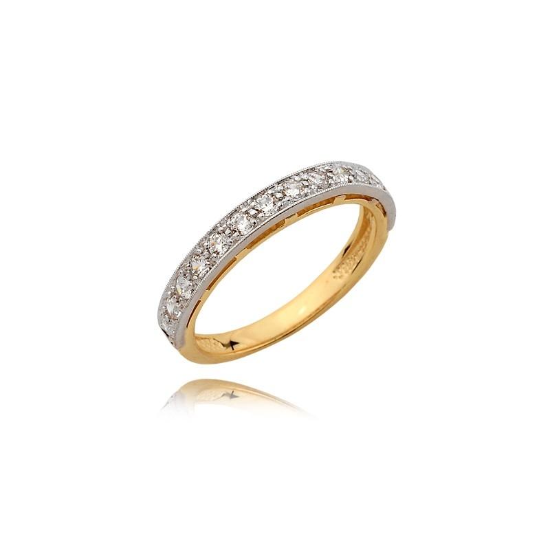 Pierścionek złoty N363p