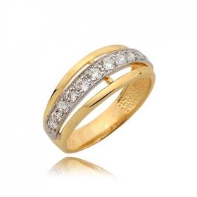 Pierścionek złoty N358p